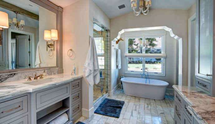 Bath Remodeling and Renovations-Wellington Kitchen & Bath Home Remodeling Solutions-We do kitchen & bath remodeling, home renovations, custom lighting, custom cabinet installation, cabinet refacing and refinishing, outdoor kitchens, commercial kitchen, countertops, and more