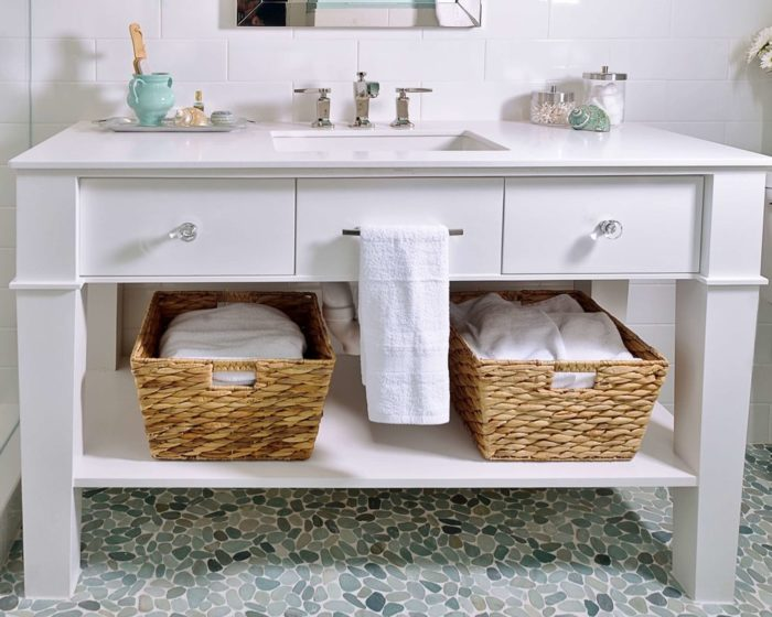 Bathroom Cabinets-Wellington Kitchen & Bath Home Remodeling Solutions-We do kitchen & bath remodeling, home renovations, custom lighting, custom cabinet installation, cabinet refacing and refinishing, outdoor kitchens, commercial kitchen, countertops, and more