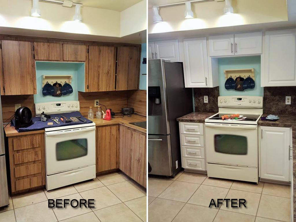 Cabinet Refacing-Wellington Kitchen & Bath Home Remodeling Solutions-We do kitchen & bath remodeling, home renovations, custom lighting, custom cabinet installation, cabinet refacing and refinishing, outdoor kitchens, commercial kitchen, countertops, and more