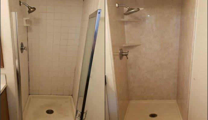 Shower Remodeling-Wellington Kitchen & Bath Home Remodeling Solutions-We do kitchen & bath remodeling, home renovations, custom lighting, custom cabinet installation, cabinet refacing and refinishing, outdoor kitchens, commercial kitchen, countertops, and more