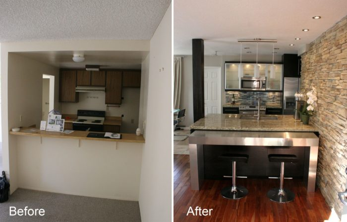 Small Kitchen Remodeling-Wellington Kitchen & Bath Home Remodeling Solutions-We do kitchen & bath remodeling, home renovations, custom lighting, custom cabinet installation, cabinet refacing and refinishing, outdoor kitchens, commercial kitchen, countertops, and more